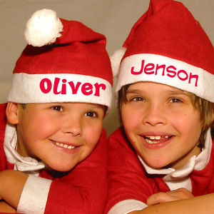 Personalised Christmas Hat - christmas jumpers & fancy dress