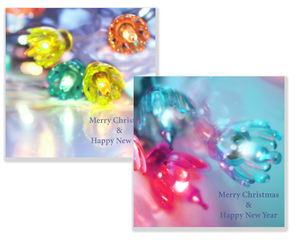 Fairy Lights Christmas Card Pack Of 10