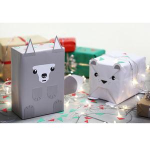 Animal Gift Wrap