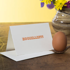Eggsellent Easter Card
