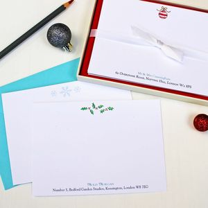 Create Your Own Christmas Correspondence Cards