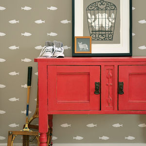 Rudd Fish Children's Wallpaper - children's room