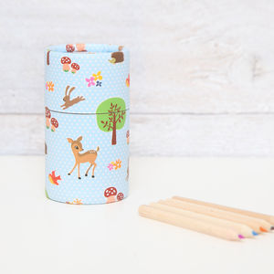Forest Animals Tub With 36 Pencils - pens, pencils & cases