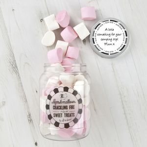 Retro Sweets Jar Giant Marshmallows - chocolates & confectionery