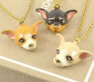 Bentley Chihuahua Dog Necklace - summer sale