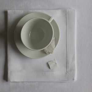 Mitered Hem Linen Napkin - bed, bath & table linen