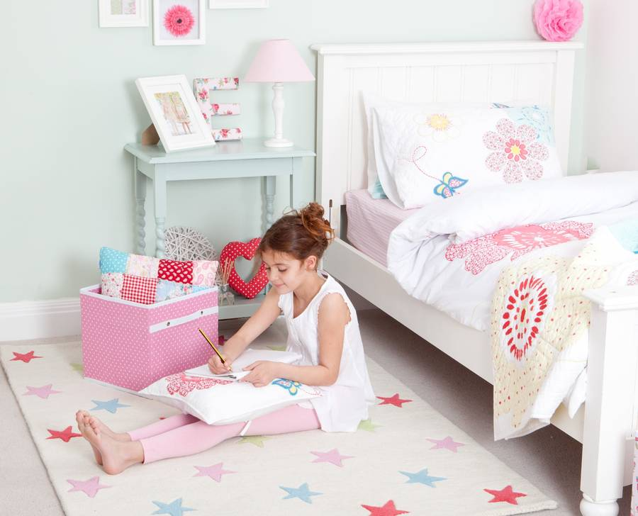 girls star rug by babyface | notonthehighstreet.com