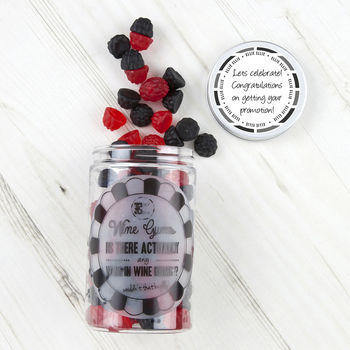 Retro Sweets Jar Berry Wine Gums