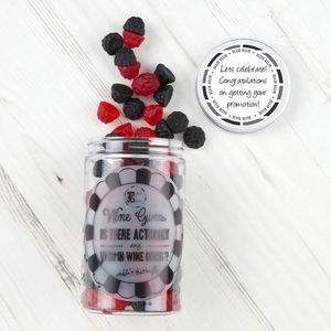 Retro Sweets Jar Berry Wine Gums - parties