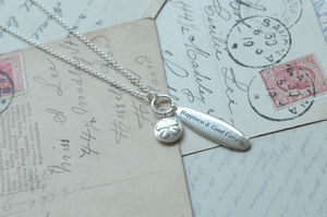 'Happiness And Good Fortune' Pendant Necklace - lucky charm jewellery
