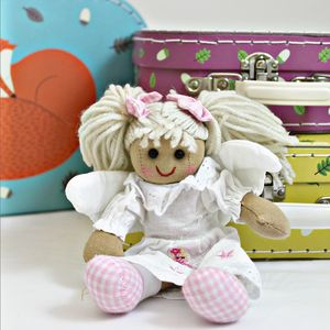 Mini Angel Rag Doll - soft toys & dolls