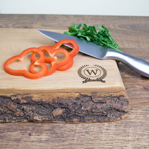 Monogram Welsh Ash Chopping Board