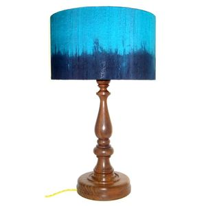 Blue Ombre Lamp - lamp bases & shades