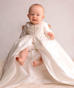 Christening Gown Coat - personalised