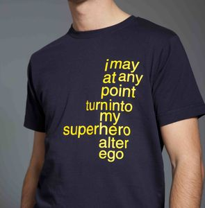 Superhero T Shirt - for young men
