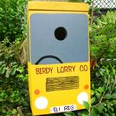 Lorry Personalised Bird Box