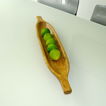 Canoe Wooden Tray