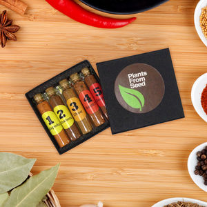 Five Super Hot Chilli Powder Gift Box - food & drink gifts under £25