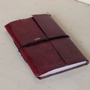 Vintage Leather Journal - diaries & journals