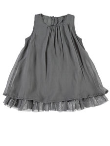 Christina Party Dress With Tulle - clothing