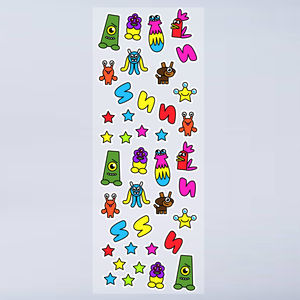 Skribbies Monster Stickers - stickers