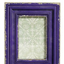 Vintage Style Purple Picture Frame