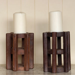 Vintage Spindle Candleholder - candles & candlesticks