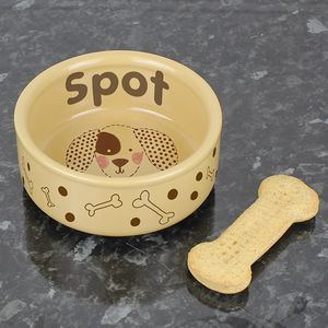 Dogs Personalised Bowl