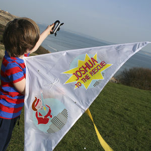 Personalised Kite Super Hero