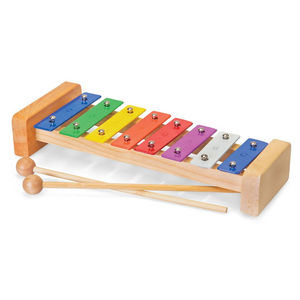 Vintage Style Wooden Xylophone - top traditional toys