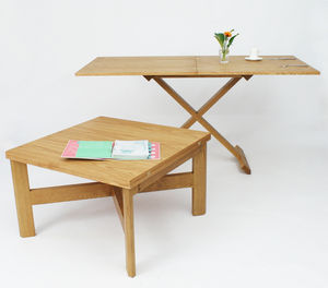 Oak Convertable Eco Multi Functional Table - view all sale items