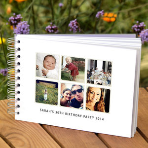 Birthday Memories Album - personalised