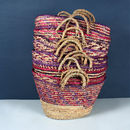 Country Colour Woven Basket