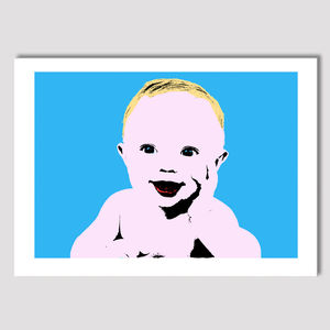 Personalised Pop Art Portrait For Children - photography & portraits for children