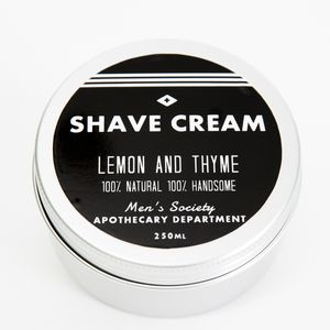 Soothing Shave Cream 250ml - men's grooming gifts