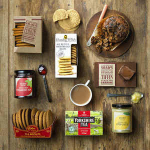 Yorkshire Tea Hamper - autumn pantry