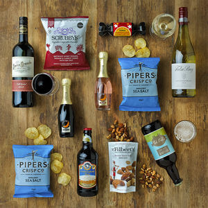 Boozy Night In For Two Taste Box - boxes & hampers