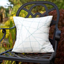 Leaf Lines Cushion