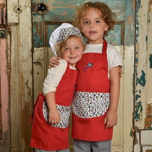 Child's Woodland Print Apron
