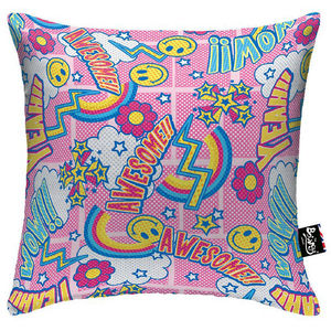 Awesome Pink Boingy Cushion