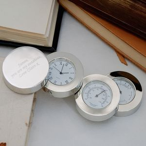 Personalised Weather Station Clock - children's room accessories