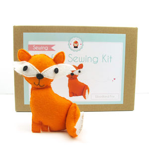 Make Your Own Felt Fox Sewing Kit