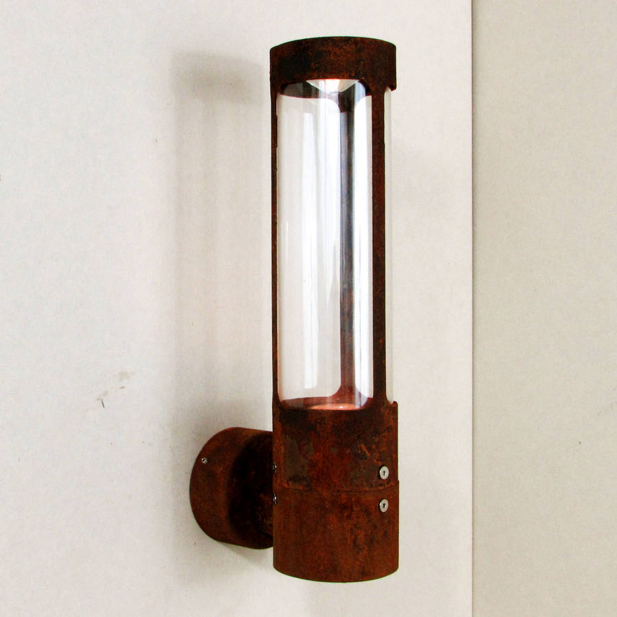 Unusual Outside Wall Lights : natural patina ip rated wall light by unique s co. notonthehighstreet.com