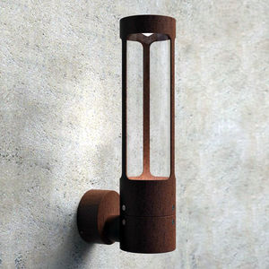 Natural Patina Outdoor Wall Light - lights & lanterns