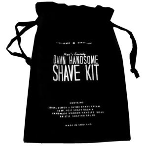 Shaving Grooming Kit 'Damn Handsome'