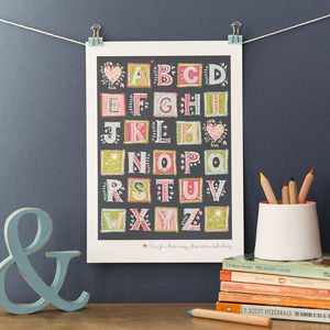 Personalised 'Love Letters' Print