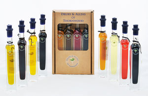 Bespoke Quad Oil And Vinegar Gift Set - tasting sets