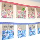 Sewing Pocket Organiser In Liberty Of London Fabric