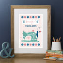 Personalised 'Sew Happy' Print