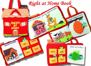 Animal Fabric Book - toys & games